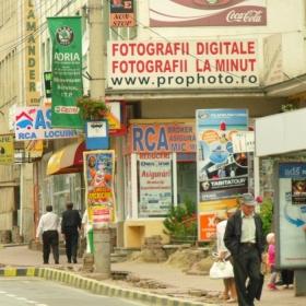 Agresati vizual in orasul nostru.