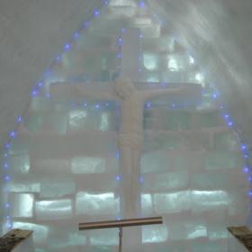 altar de ghiata