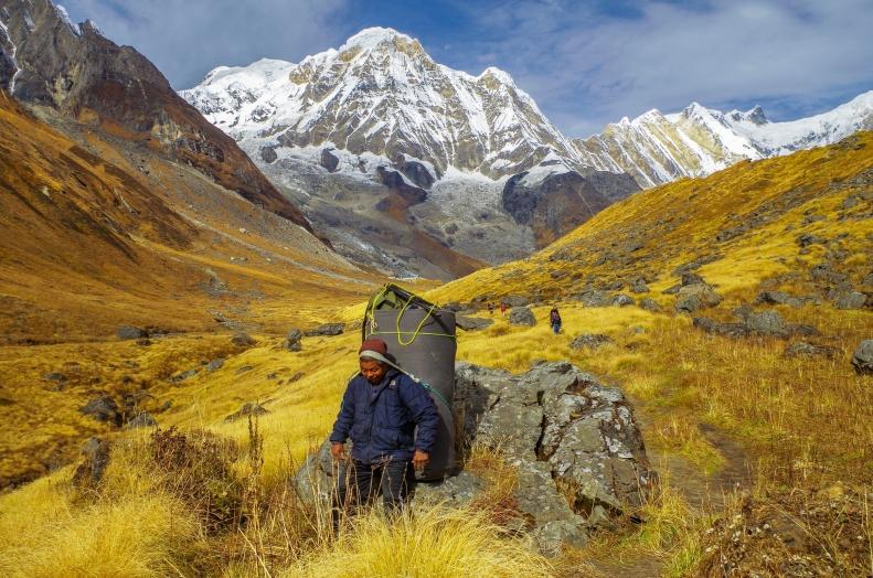 In drum spre Annapurna