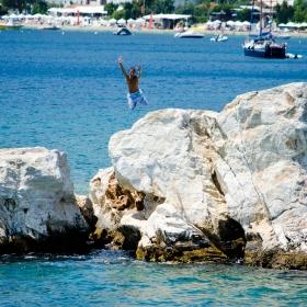 Saritura de la JO locale din Grecia