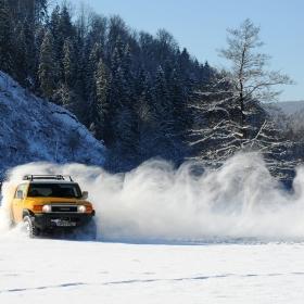 Snow blastin'
