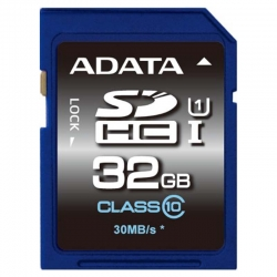 ADATA Premier SDHC 32GB UHS-I, Class 10