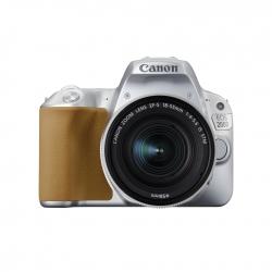 Canon EOS 200D kit EF-S 18-55mm f/3.5-5.6 IS STM, Argintiu