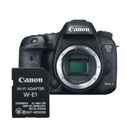 Canon EOS 7D Mark II body + adaptor Wi-Fi Canon W-E1