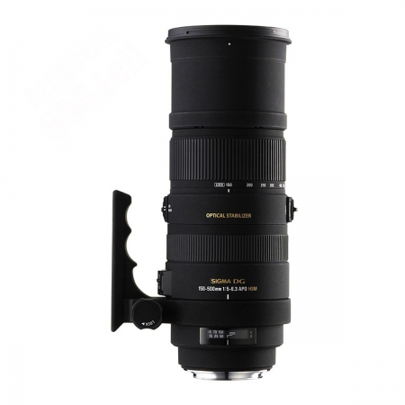 Sigma 150-500mm f/5-6.3 DG APO OS (stabilizare de imagine) HSM - Canon EF