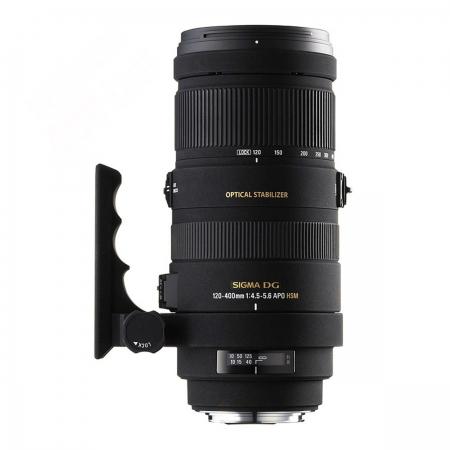 Sigma 120-400mm f/4.5-5.6 APO DG HSM OS (stabilizare de imagine) - Canon EF