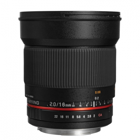 Samyang 16mm f/2 - montura Sony A