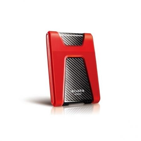 ADATA HD650 - HDD Extern 1TB, USB 3.0, 2.5''-Rosu