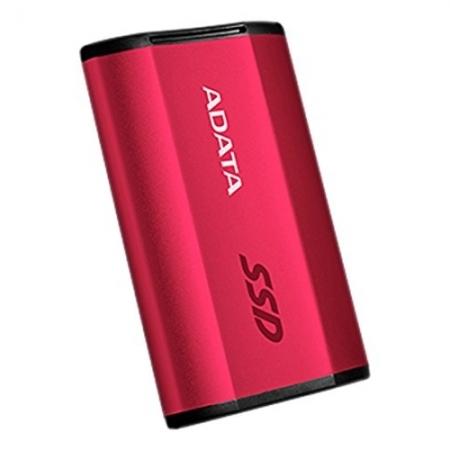 ADATA SSD SE730, 250GB, 500/500MB/s, USB 3.1, Rosu