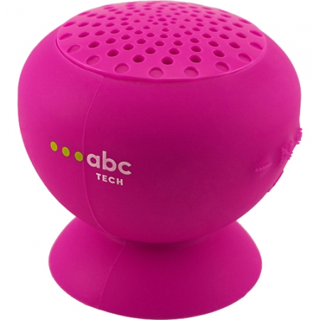 ABC Tech Boxa Portabila Waterproof Cu Microfon, Roz