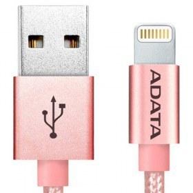 ADATA - Cablu USB de incarcare/ date, MFi (iPhone, iPad, iPod), Rose Gold