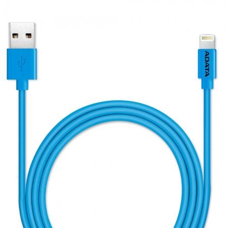 ADATA - Cablu de date/ incarcare Lightning, MFI, 1m, Albastru