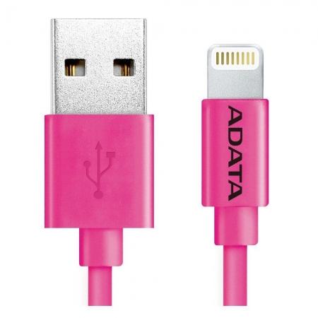 ADATA - Cablu de date/ incarcare Lightning, MFI, 1m, Roz