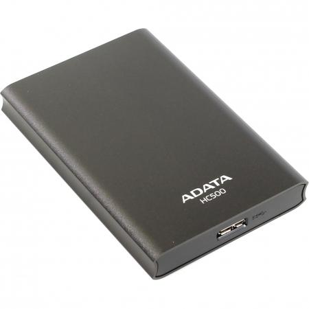 ADATA HC500 - HDD extern, 1TB, USB 3.0, Titanium