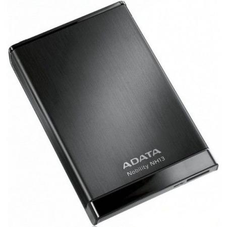 ADATA NH13 - HDD extern, 2TB, USB 3.0, Negru