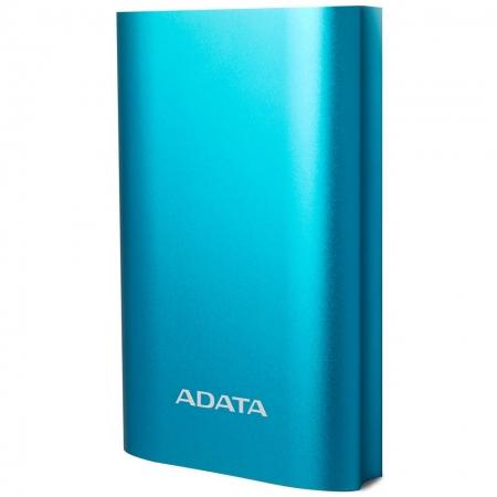 ADATA Powerbank - Acumulator extern, 10050 mAh, Albastru