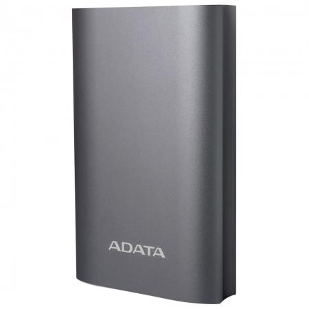 ADATA Powerbank - Acumulator extern, 10050 mAh, Titanium