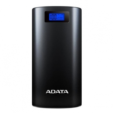 ADATA Powerbank - Acumulator extern, 20000mAh, 2.1A, Negru