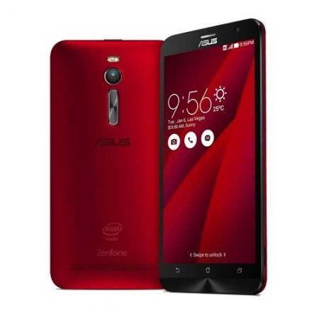 ASUS ZENFONE 2 DUALSIM 32GB LTE 4G ROSU 4GB RAM - RS125018605