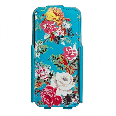 Accessorize Blue Roses - husa flip iPhone 5s / 5