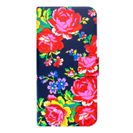 Accessorize Russian Rose Navy - husa tip agenda iPhone 6