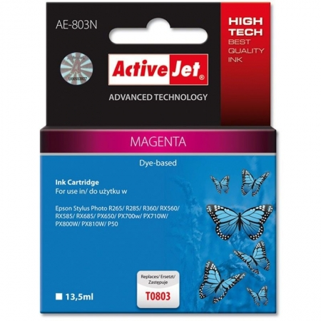 ActiveJet replace Epson T0803 magenta (13.5ml )