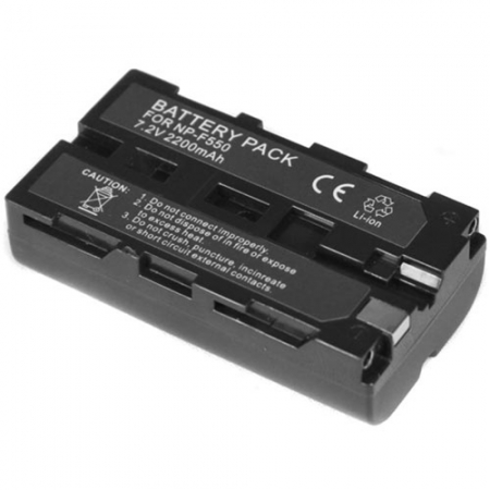 Dynaphos - Acumulator replace NP-F550 Battery, 2200mAh