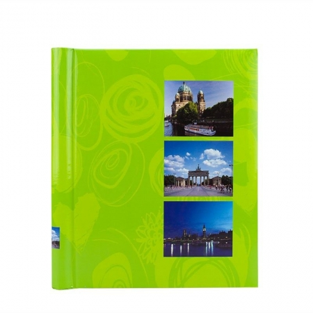 Album foto Age Big Ben, 20 file autoadezive, 23x28 cm, Verde