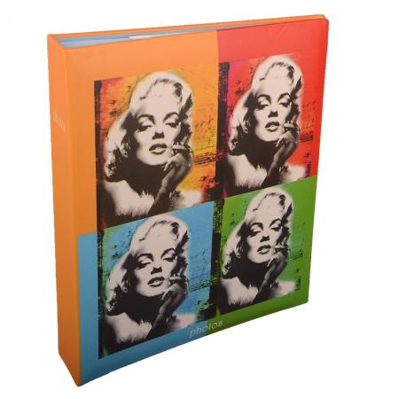 Album foto Hollywood, 11x16x200 cm, Portocaliu