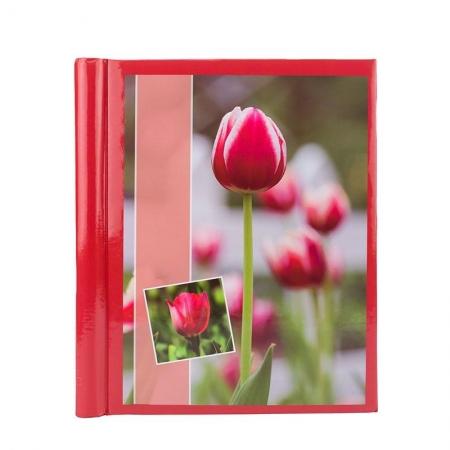Album foto Red Flower, 20 pagini, 23x28cm, Rosu