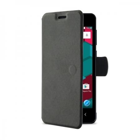 Allview Husa flip pentru A6 Duo - negru