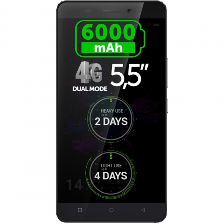 Allview P8 Energy - Dual SIM, Quad-core 1.3 GHz, 16GB, 2 GB RAM, LTE 4G - negru
