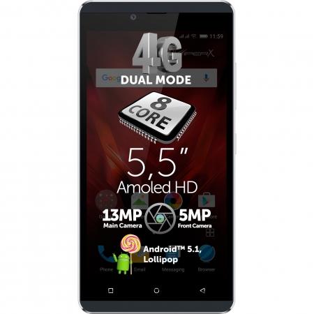 Allview V2 Viper - Dual Sim 4,7' HD, Quad Core 1.3GHz, RAM 1 GB, 16 GB, bleumarin