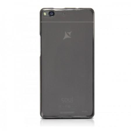 Allview capac de silicon semitransparent negru X1 Soul