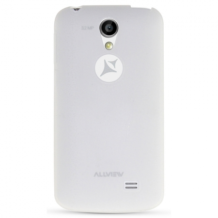 Allview capac protectie spate A5 smiley alb