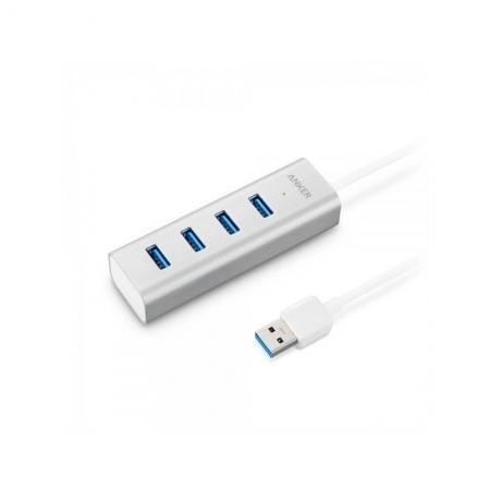Anker - Hub, USB 3.0, Aluminiu unibody, 4 x USB