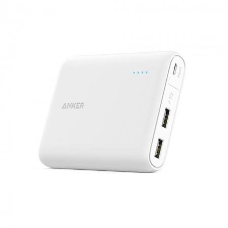 Anker PowerCore - Acumulator extern 13000 mAh, alb