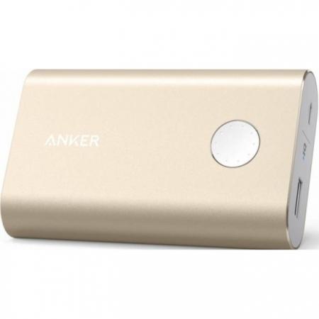Anker PowerCore - Acumulator extern premium 10050 mAh, auriu