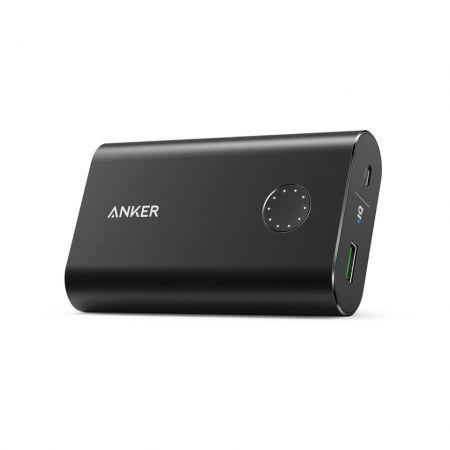Anker PowerCore Plus - Baterie externa 10050 mAh Qualcomm Quick Charge 2.0 negru