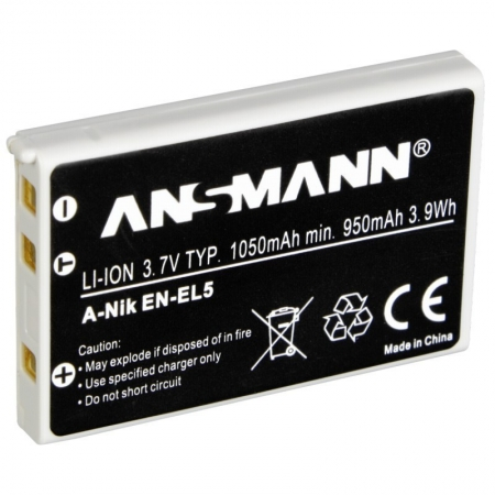Ansmann A-Nik EN-EL5 - Acumulator tip EN-EL5 petnru Nikon Coolpix