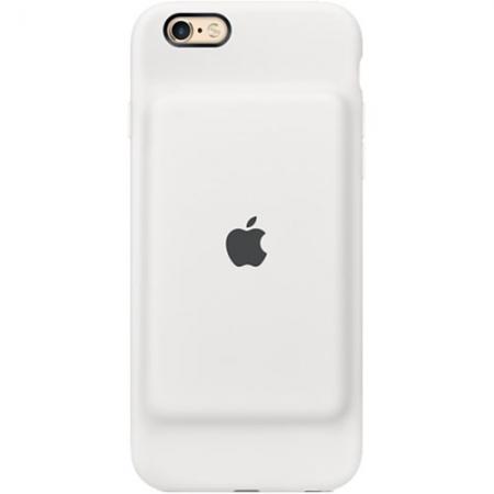 Apple Baterie Externa + Husa 1800 mAh iPhone 6, 6S - alb