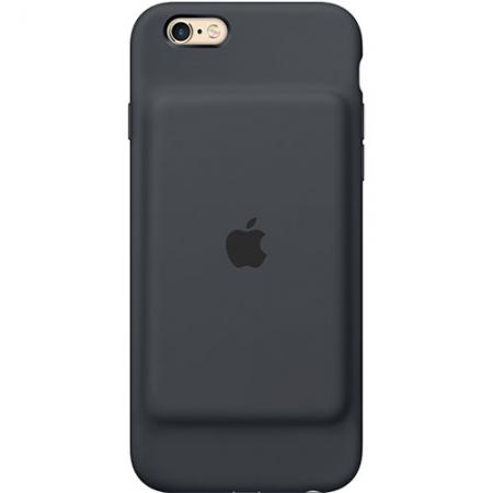 Apple Baterie Externa + Husa 1800 mAh iPhone 6, 6S - negru