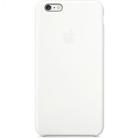 Apple - husa capac spate silicon pentru iPhone 6 Plus - alb