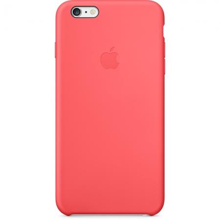 Apple - husa capac spate silicon pentru iPhone 6 Plus - roz