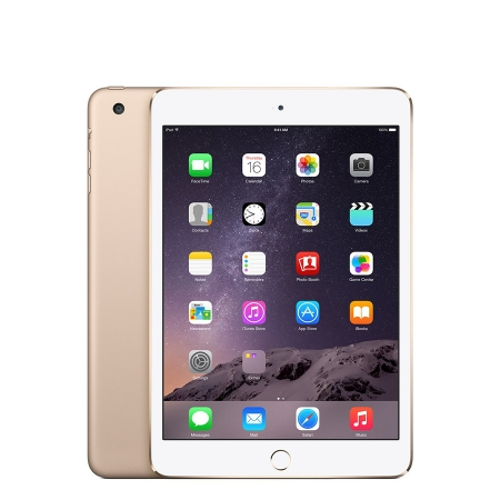 Apple iPad mini 3 64GB Wi-Fi + 4G - gold