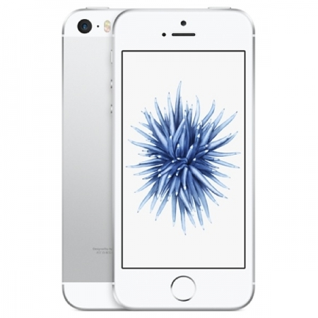 Apple iPhone SE - 4'', Dual-Core, 2GB RAM, 32GB, 4G - Argintiu