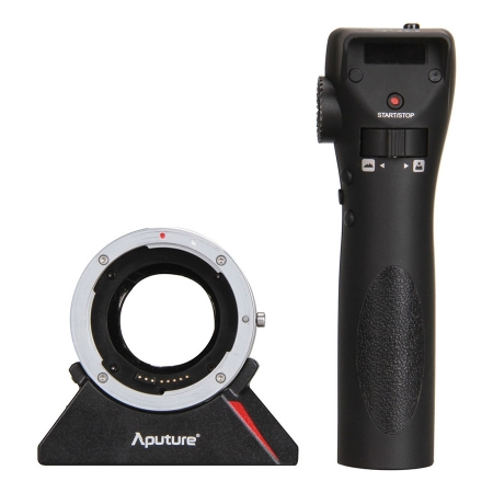 Aputure DEC - adaptor Canon EF la Sony E cu control wireless pt focus & diafragma