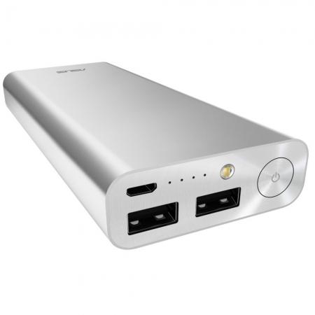 Asus ZenPower Ultra - Acumulator extern, Quick Charge, 20100 mAh - Argintiu