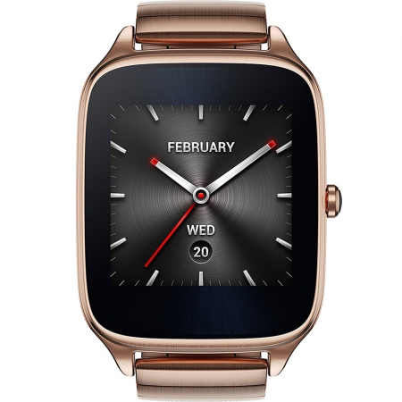 Asus ZenWatch 2 - Smartwatch, Curea Metalica, Auriu