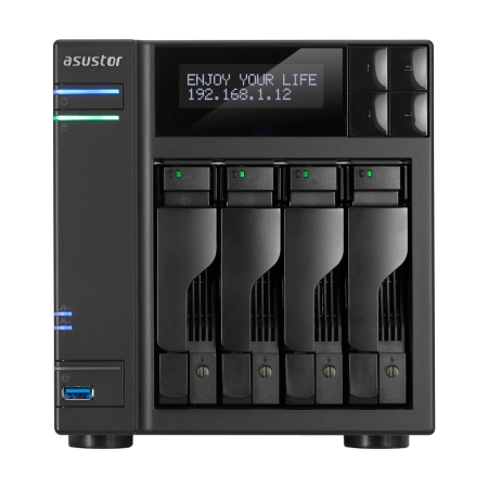 Asustor - NAS AS6204T 4-Bay noHDD, 4T